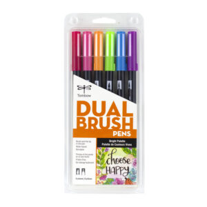 Tombow set 6 colores Bright